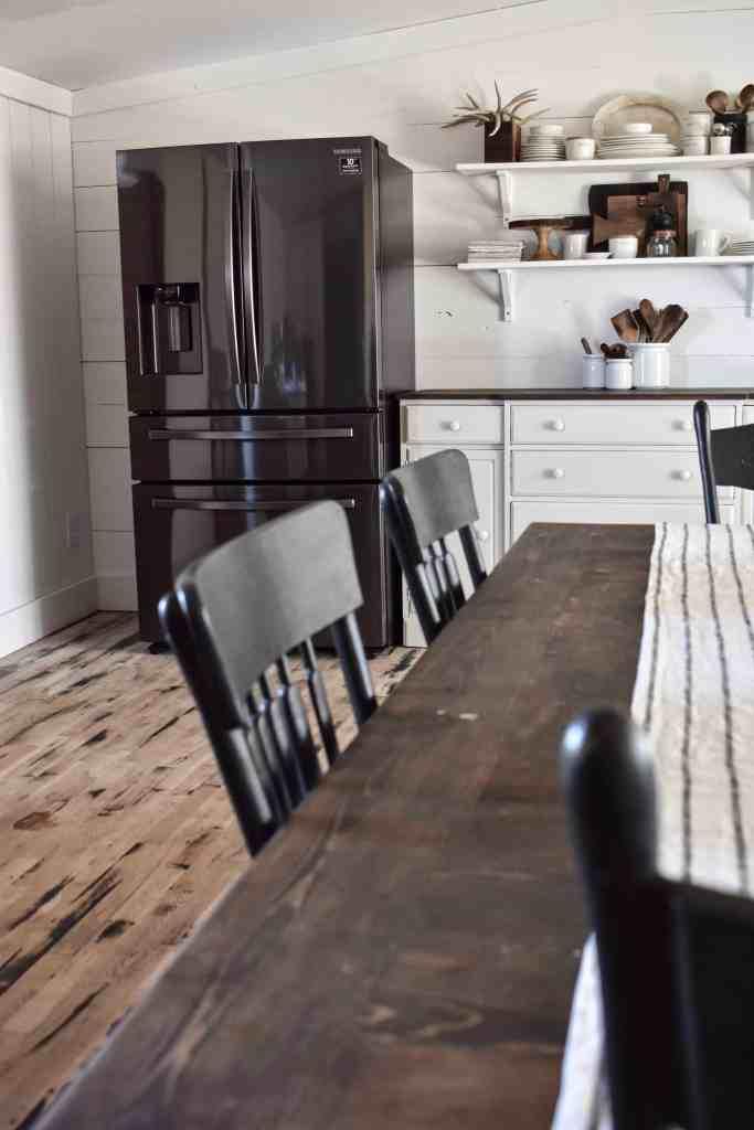 Kitchen Update - Our New Fridge Samsung Counter Depth