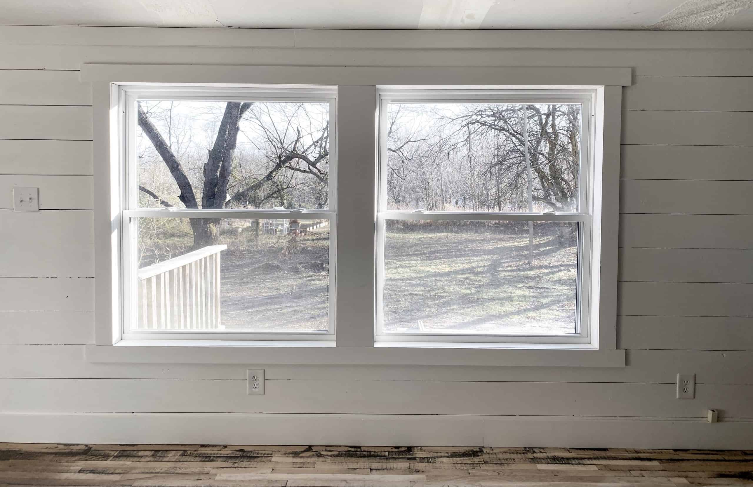 DIY Mobile Home Window Trim and Molding