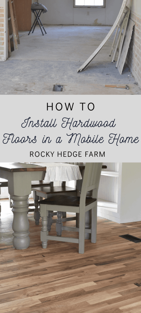Double Wide Mobile Home Makeover Farmhouse Style Remodel