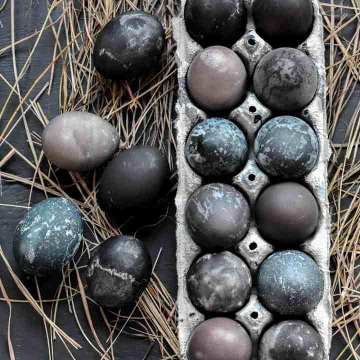 Natural Easter Egg Dye Recipe