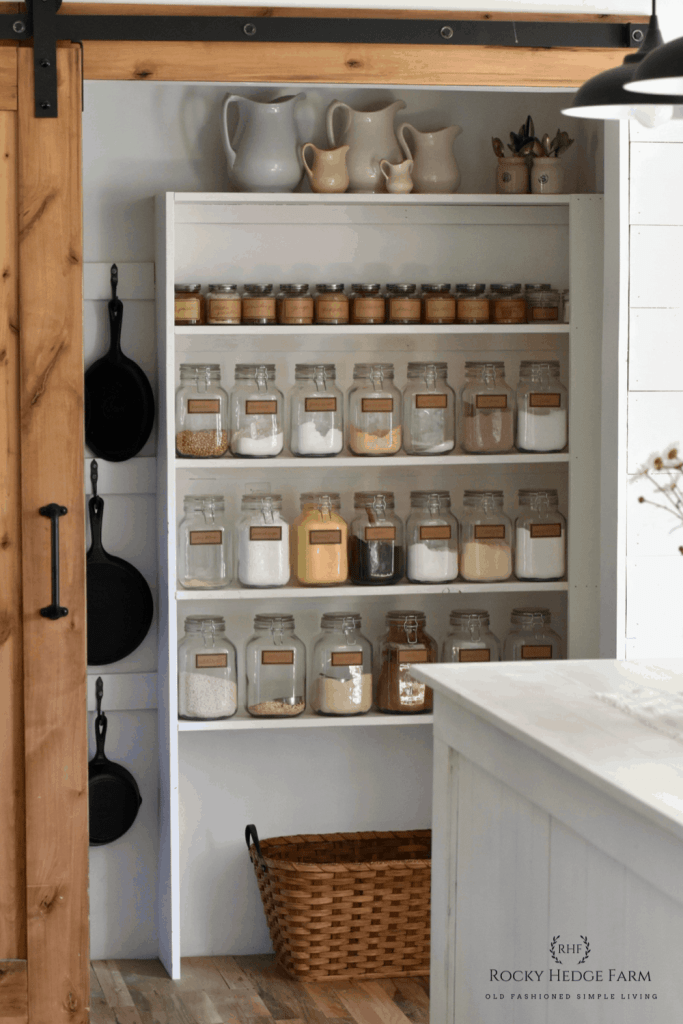 Kitchen Pantry for Small Spaces