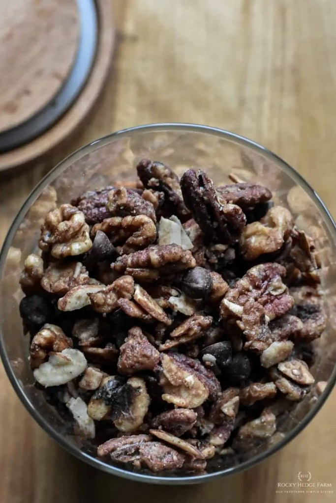 Healthy Sweet and Salty Trail Mix