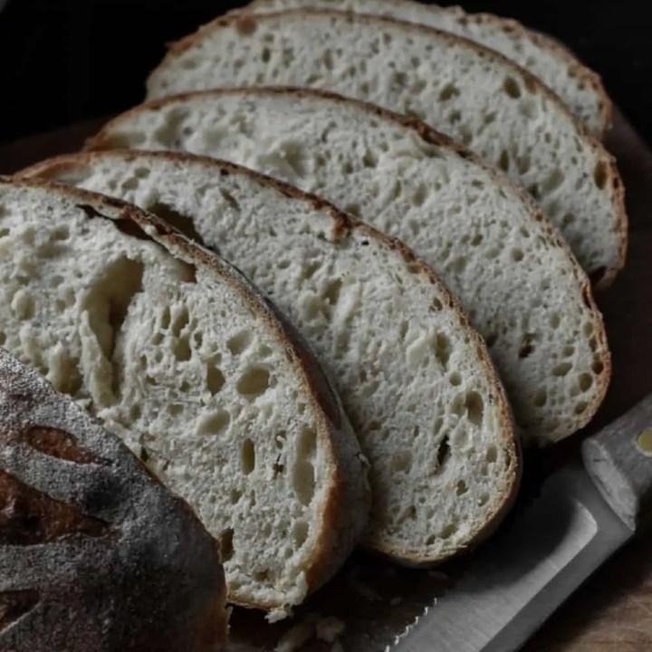 Artisan Honey Sourdough Bread Recipe