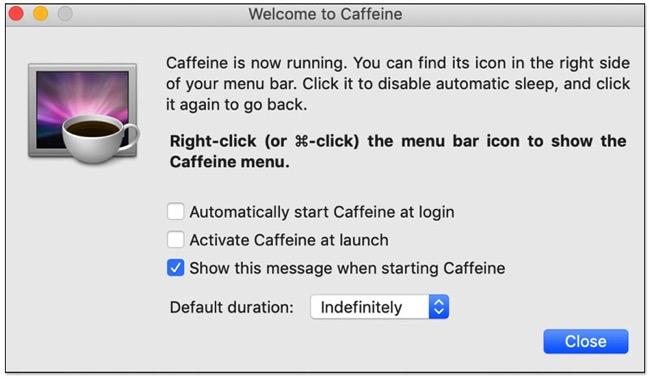避免 Mac 進入睡眠模式 ,螢幕快照 2018 11 26 下午5 48 47