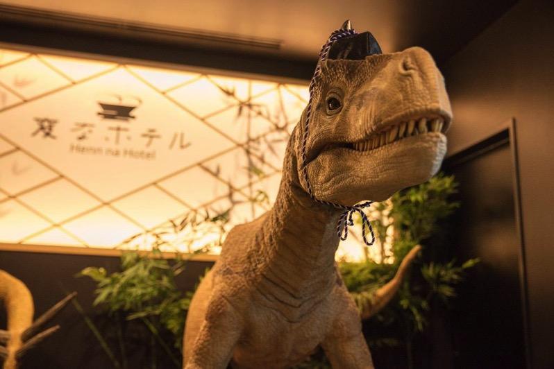 海茵娜酒店东京西葛西櫃檯恐龍