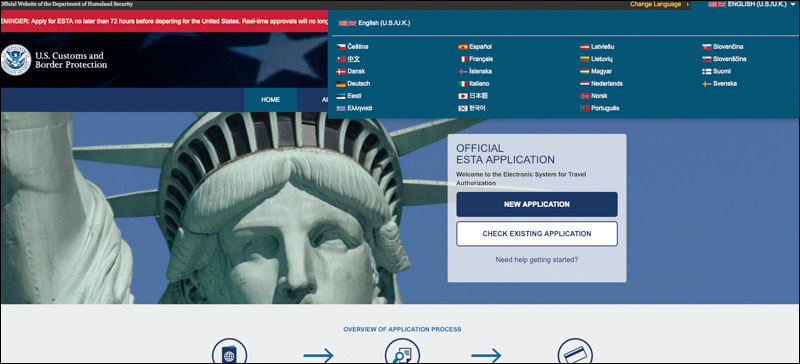 ESTA 美國簽證申請 ,螢幕快照 2019 01 29 下午3 03 29