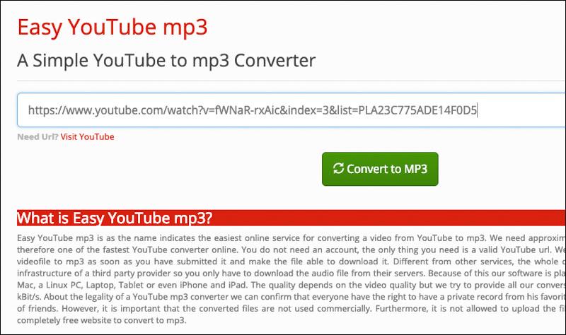 YouTube 轉 MP3 ,螢幕快照 2019 03 08 下午4 49 23