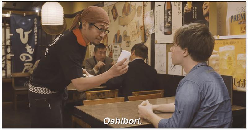 日本oshibori毛巾