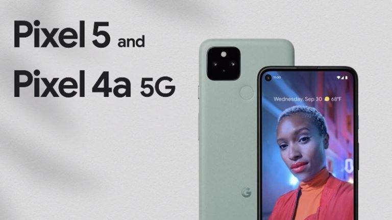 Google Pixel 5 與 Pixel 4a 5G 比較