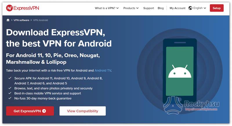 ExpressVPN Android VPN App