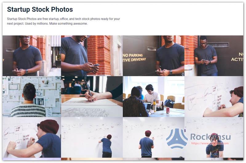 Startup Stock Photos 網站