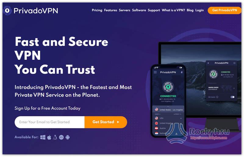 PrivadoVPN Amazon Prime Video