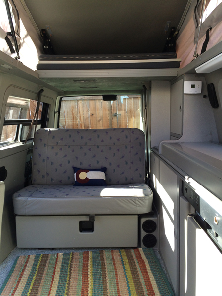 Rent A Volkswagen Eurovan Full Camper Rocky Mountain