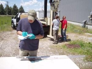 Soil Sampling with Geoprobe