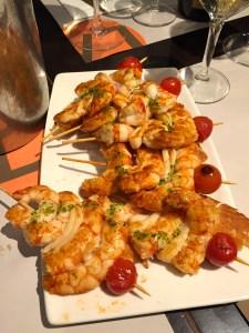 International Food Tour - Barcelona - Prawns