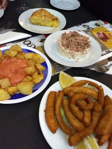 International Food Tour - Barcelona - Fritters