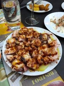 International Food Tour - Barcelona - Octopus