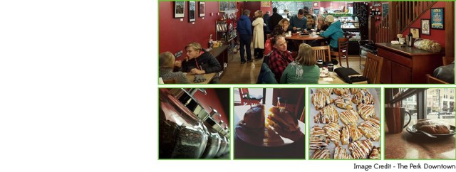 Colorado Springs' Coffee Shops| The Perk Downtown