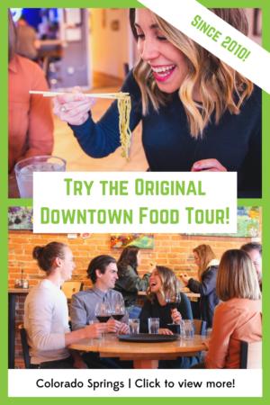 Original Colorado Springs Food Tour Banner