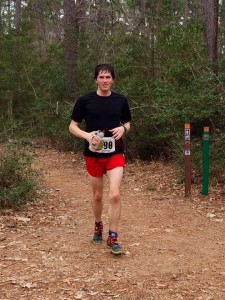 Early miles of Rocky Raccoon.  Shorts can never be too short.