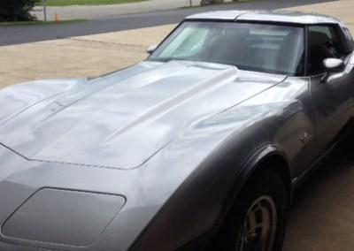 Grey Corvette
