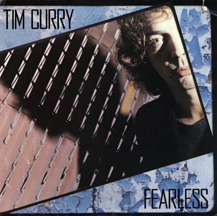 RockyMusic Tim Curry Fearless LP Front Cover Image