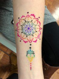 Airbrush Henna Tattoos