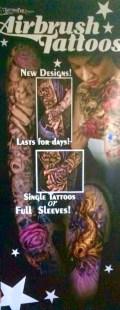 Custom Tattoo Banner