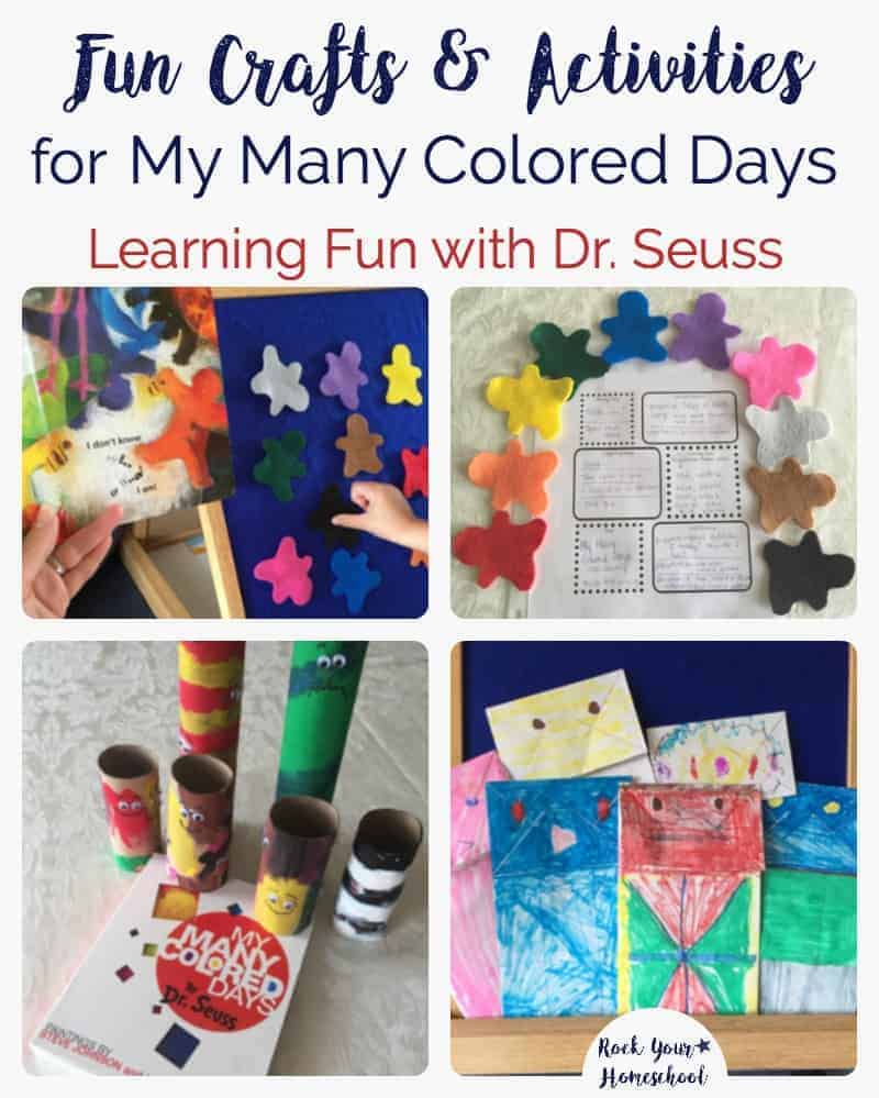 Fun Crafts & Activities for My Many Colored Days - Rock Your Homeschool