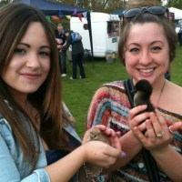 A firm favourite, chick and duckling out at events