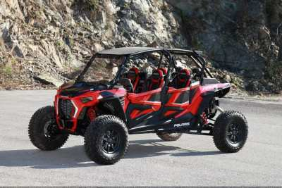 Red Polaris RZR