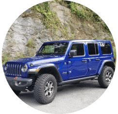 blue platinum rubicon jeep