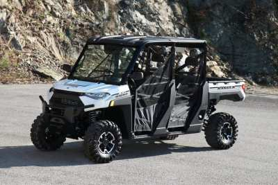 White Polaris Ranger