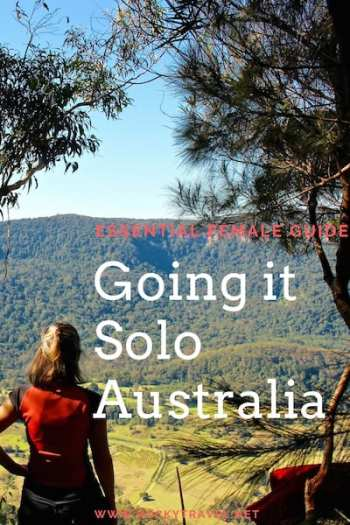 Essential Female Guide for Travelling Alone in Australia Photo