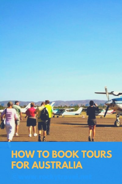 How to book tours in Australia Pinterest