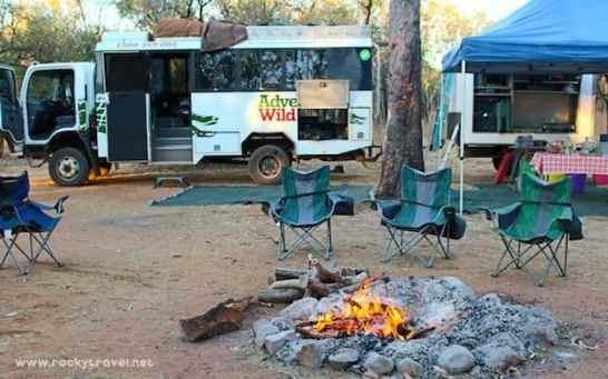 Camping in the Kimberley Australia