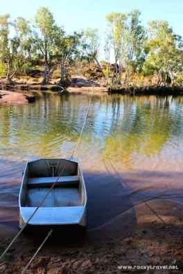 Crossing Manning River Kimberley
