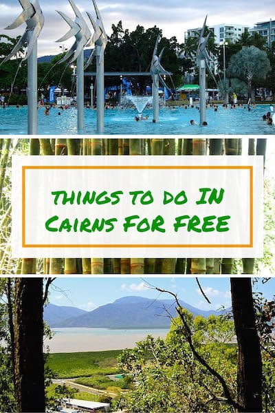 Cairns Things to do for free