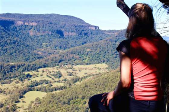 Numinbah Lookout Daves Creek Walk Binna Burra