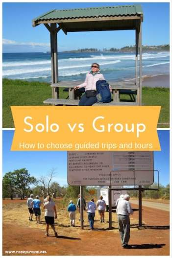 Solo vs Group - How to choose the best guided trips and tours