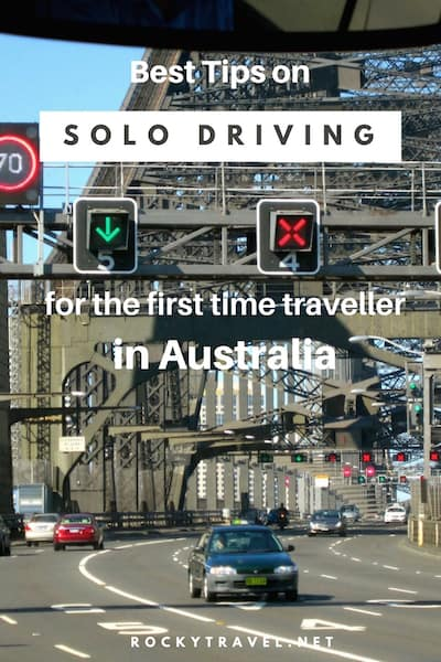 Best Tips on Solo Driving for the first time traveller in Australia