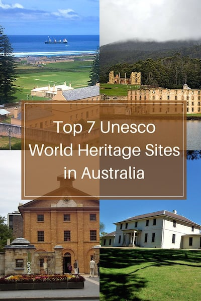 7 Unesco World Heritage Sites in Australia