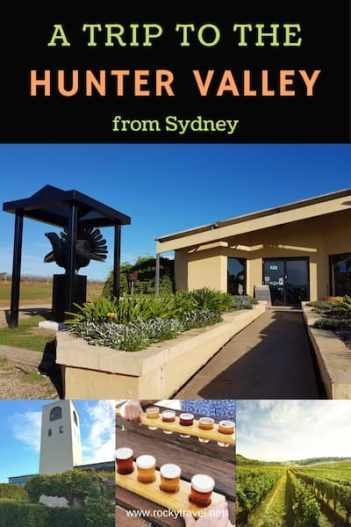 A trip to the Hunter Valley from Sydney Photos