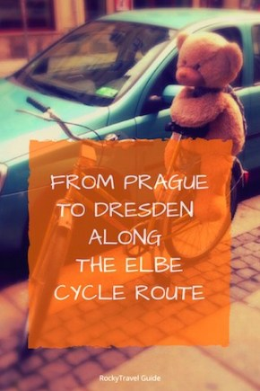 Biking from Prague to Dresden along the Elbe Cycle Route photos