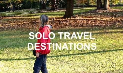 Best Solo Travel Destinations