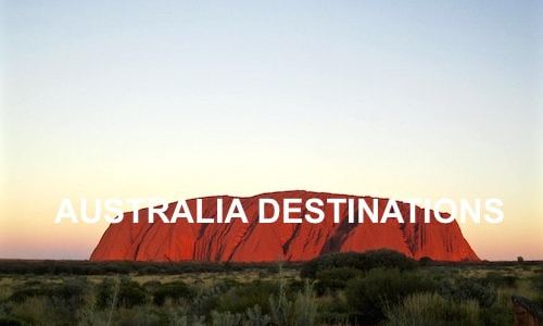 Uluru Ayers Rock Australia Destinations