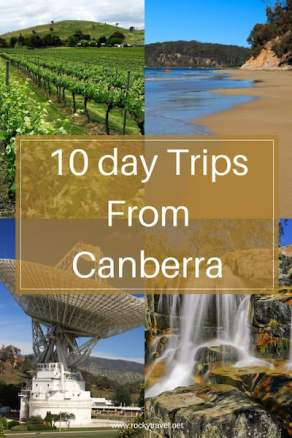 10 best day trips from Canberra