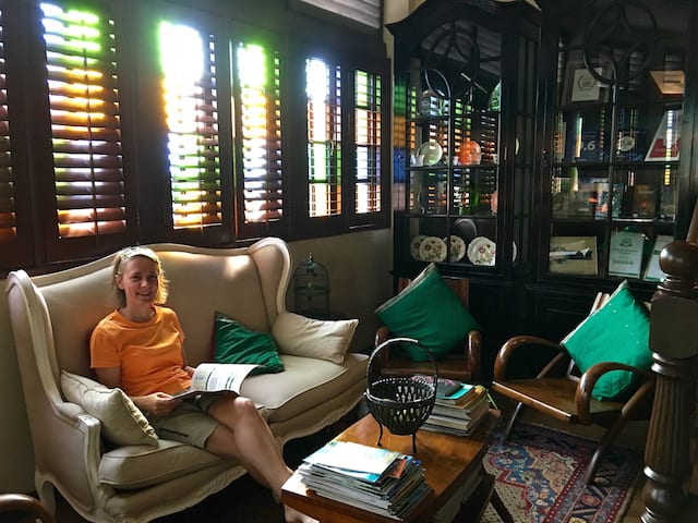 The Library at the Campbell House - GeorgeTown Hotel Penang
