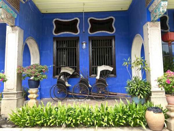 the blue mansion George Town