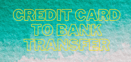 Transfer Credit Card Balance to Bank Account